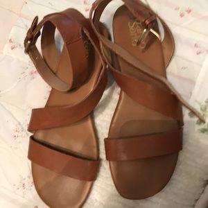 Sandals light brown Franco Sarto